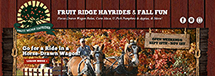 Website Design & Development - Fruit Ridge Hayrides (Kent City, MI)
